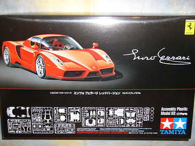 Tamiya 1/24 Enzo Ferrari Red Model Car Kit #24302