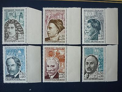 France: 1962 Red Cross Fund set of 6 vf margin MINT never hinged SG 1577 - 1582