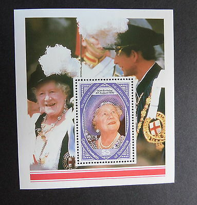 Dominica 1990 Queen Mother 90th Birthday MS miniature sht UM MNH unmounted mint