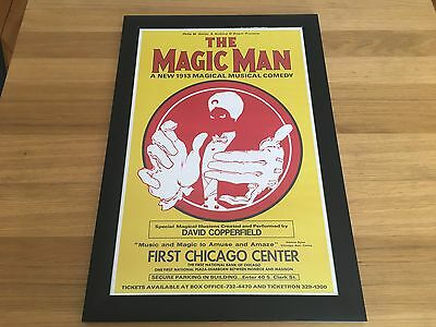 David Copperfield Magic Man Poster From 1974 - Rare