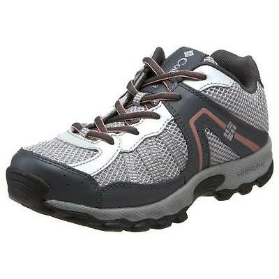 COLUMBIA Kids Boys NEW Sz 3 Youth Gray Switchback 2 Omni-Tech Hiking Shoes