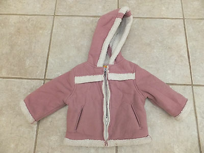Thick Lambs wool look winter jacket Size 0