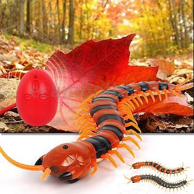 Remote Control Infrared Electric RC Centipede Scolopendra Kids Toy Rechargeable
