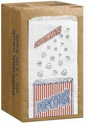 Great Northern Popcorn Company 1-1/2-Ounce Duro Bag Popcorn Bags Case Of 500
