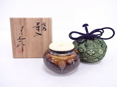 3048991: Japanese Tea Ceremony / Chaire (Tea Caddy) / Teiichi Oketani