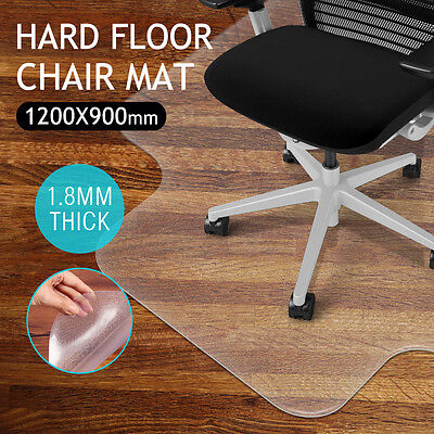 Frosted Office Chair Mat Home Carpet Floor Protector Protective PVC 1.8MM Thick