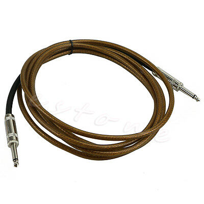 10ft 3M Electric Guitar Bass Instrument Patch Amp Amplifier Cable Lead Cord New