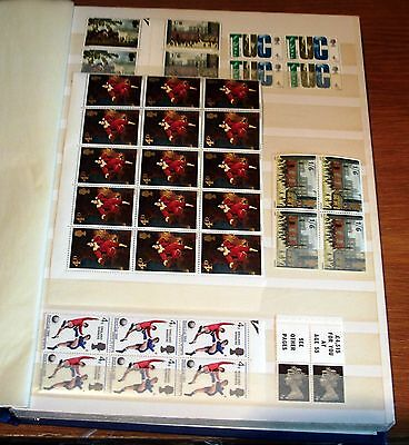 300+ Great Britain Mainly Qe2 Mnh Pre-Decimal Commemoratives In Blocks & Sets.