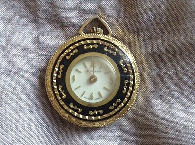 Vintage Swissam Mechanical Ladies Pendant watch (without Chain)