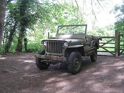 September 1942 Ford GPW jeep. Willys WW2 1/4 Ton Government Truck.