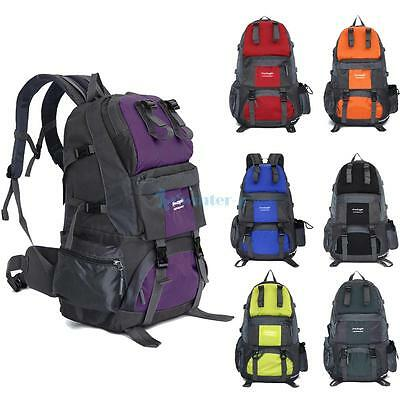 50L Outdoor Waterproof Rucksack Backpack for Hiking Camping Travel Luggage Bag
