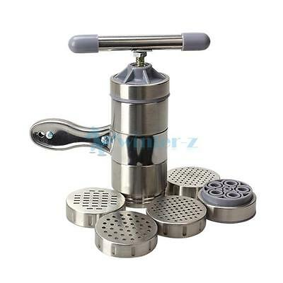Kitchen Pasta Noodle Maker Press Machine Vegetable Fruit Juicer Stainless Steel