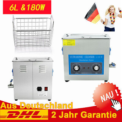 6L Digitales Ultraschall Ultrasonic Cleaner Reiniger Ultraschallreinigungsgerät