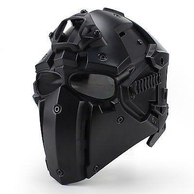 Paintbal Tactical Helmet Full Skull Protection Impact Resistant Airsoft Mask