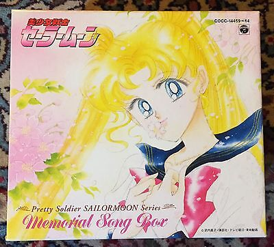 Sailor Moon Memorial Song Box CD x 6 Japan