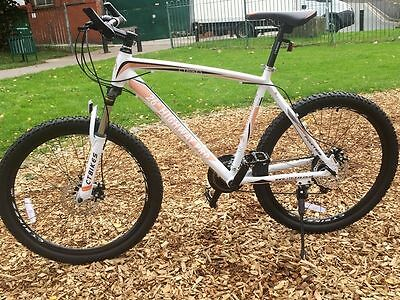 "CTBikes Highway Pro Gentlemen White / Orange 26 ""Mountain Bike MTB Alloy F"