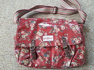 Cath Kidston Baby Changing Bag Red / Floral