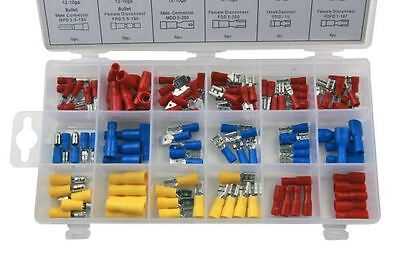 Resolut 120PC Assorted Insulated Crimp Terminals 2980