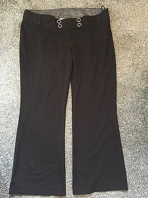 Black Work maternity Trousers - new Look