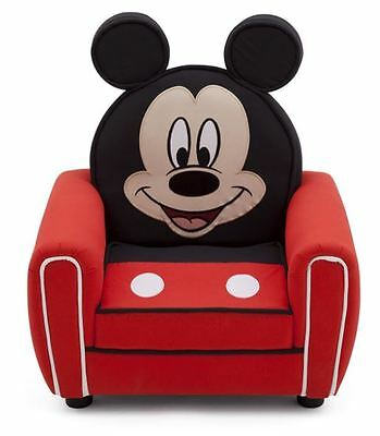 Delta Children Mickey Mouse Upholstered Chair with Ears, DISNEY Arm Chair