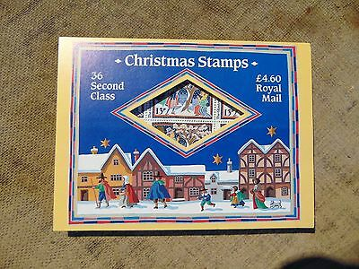 GB a full sheet of 36 second class(13p) Christmas stamps in a Christmas envelope