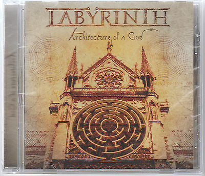 Labyrinth Architecture of a god CD 2017 Heavy metal