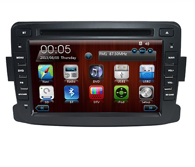 "Autoradio Dvd Gps 2Din 7"" Tactile Dacia Duster Logan Ii Radio Wifi Bluetooth"