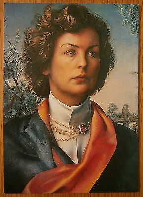 The Duchess of Devonshire Card Chatsworth Derbyshire Artist Pietro Annigoni