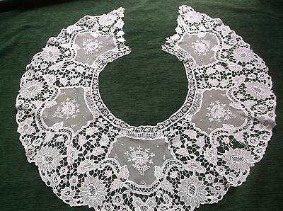 Vintage Lace Bertha (Large Collar)