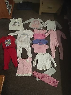 6-9 month girls bundle 15 Items