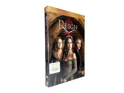 Reign: The Complete Second Season 2 (DVD, 2015, 5-Disc Set)