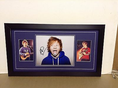 Ed Sheeran Hand Signed/Autographed Photograph with postcards and a COA