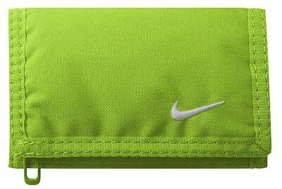 Nike Basic Wallet- Wallets- Voltage Green/White
