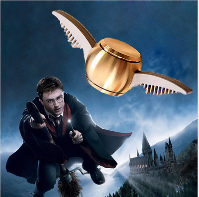 Golden Snitch Fidget Spinner Hand Toy Happy potter Inspired design
