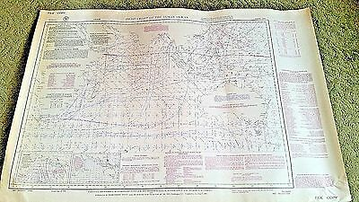 Pilot Chart of the INDIAN OCEAN #2603 US NAVY C.A.W.- AUGUST 1945