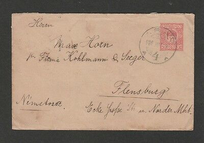 Hungary 1906  PSE mailed to Germany