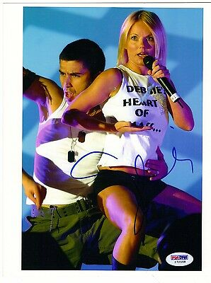 Geri Halliwell Autographed Signed 8 x 10 Photo Spice Girls with PSA/DNA Cert.