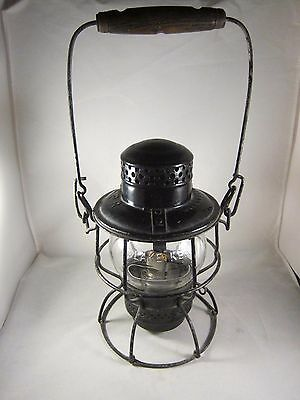 CPR Canadian Pacific Railway Lantern Lamp Hiram Piper Adlake 4-56