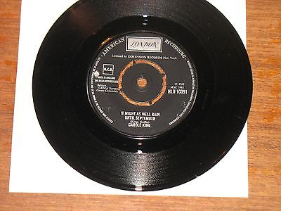 Carole King 'It Might As Well Rain Until September' London Records single