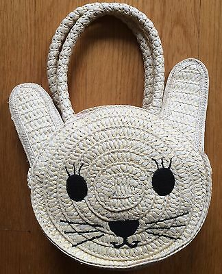 New with Tags Gap baby/kids small cat face Tote Bag.