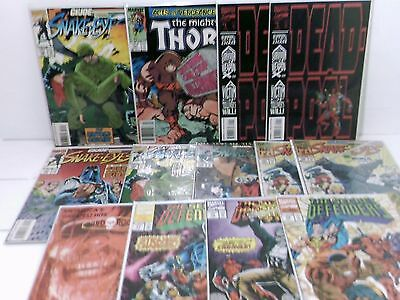 Lot of 29 Comics G.I. Joe,Dead pool,Thor,Superman,Jurassic Park,The Demon