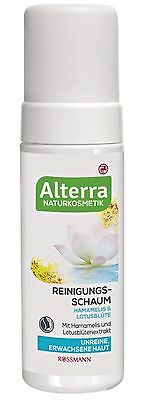Mousse Nettoyante Visage Bio, ALTERRA, 150ml