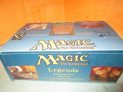 Wizards of the Coast MTG Magic The Gathering Legends Empty Display Box