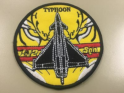 Parche militar Ejercito del Aire Spanish Air force military patch Typhoon 142Sqn
