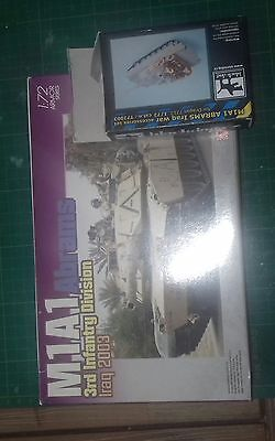 1/72 Dragon #7215 M1A1 Abrams Iraq with Black Dog resin accessories