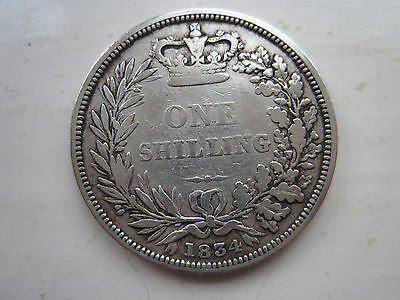George IV Sterling Silver Shilling dated 1834