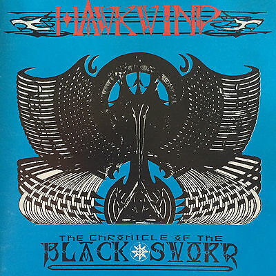 (Fi) Hawkwind, Chronicle Of The Black Sword, ORIG UK FLICKNIFE CD +UNIQUE TRACKS