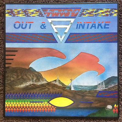 (Fi) Hawkwind - Out & Intake + orig inner slv, UK LP 1987 (Flicknife ‎SHARP 040)