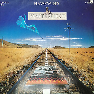 "(Fi)  Hawkwind ‎- ""Masterpiece"" - German LP *OBSCURE 1979 ISSUE*"