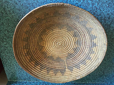 Navajo Wedding Basket Old Pawn from John Lauc Collection